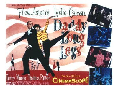 Daddy Long Legs, Fred Astaire, Leslie Caron, 1955