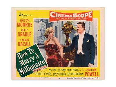 How to Marry a Millionaire, Marilyn Monroe, Alex D'Arcy, 1953