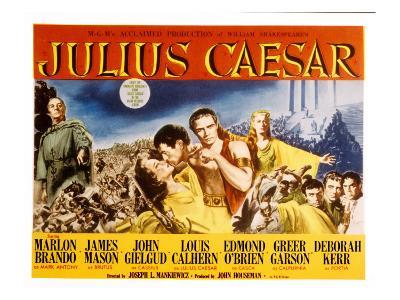 Julius Caesar, Louis Calhern, Greer Garson, James Maso N, Marlon Brando, Deborah Kerr, 1953