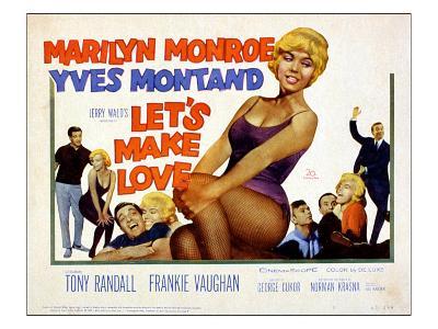 Let's Make Love, Frankie Vaughan, Marilyn Monroe, Yves Montand, 1960