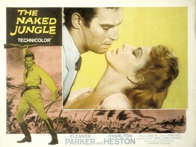 The Naked Jungle, Charlton Heston, Eleanor Parker, 1954