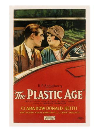 The Plastic Age, Donald Keith, Clara Bow, 1925
