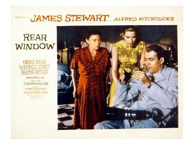 Rear Window, Thelma Ritter, Grace Kelly, James Stewart, 1954