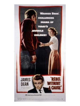 Rebel Without a Cause, James Dean, Natalie Wood, 1955