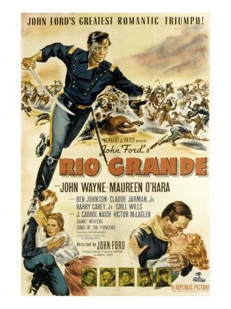 Rio Grande, John Wayne, Claude Jarman Jr., Maureen O'Hara, 1950
