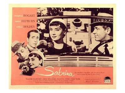 Sabrina, Audrey Hepburn, William Holden, 1954