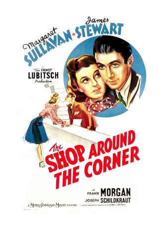 Shop around the Corner, Margaret Sullavan, James Stewart, 1940