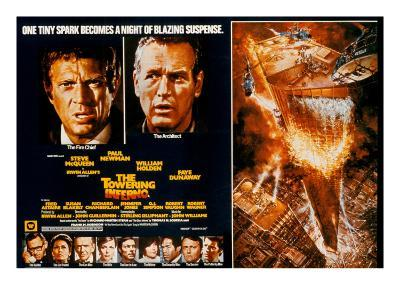 The Towering Inferno, Steve McQueen, Paul Newman, 1974