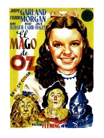 Wizard of Oz, Judy Garland, 1939