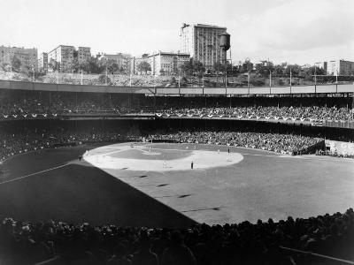 Polo Grounds, During the 1937 World Series Between the New York Yankees and the New York Giants