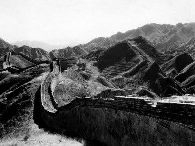 The Great Wall of China at Nankow Pass, 1931