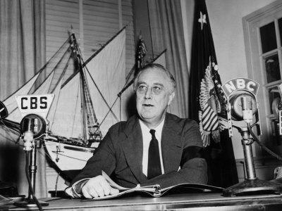 President Franklin D. Roosevelt, Speaking to the United States, 1940s