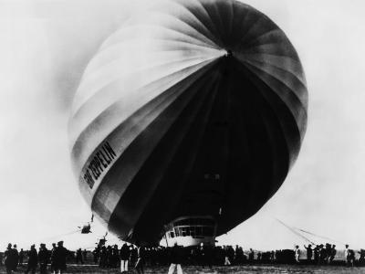 The LZ 129 Graf Zeppelin, Friedrichshafen, Germany, 1920s