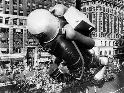 The Macy's Thanksgiving Day Parade, Times Square, New York City, November 27, 1952