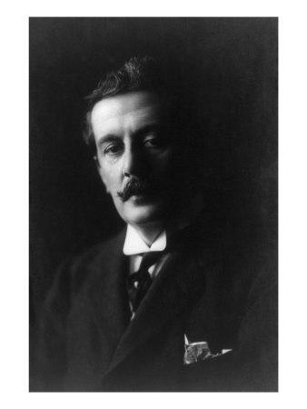 Giacomo Puccini, Italian Opera Composer. 1907