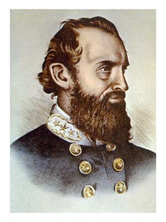 Thomas J. 'stonewall' Jackson, Confederate General During the Civil War