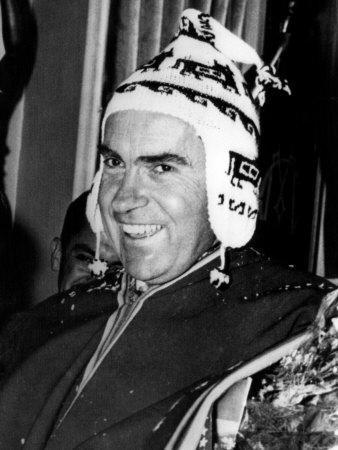 Vice President Richard Nixon, La Paz, Bolivia, May 9, 1958