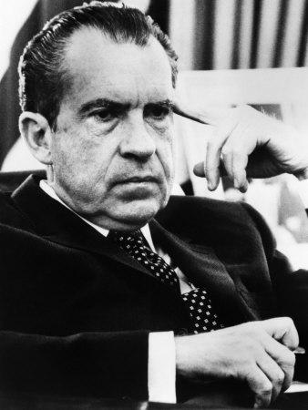 US President Richard Nixon, 1970s