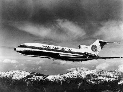 Pan American's Tri-Engined Boeing 727 Jet, 1965