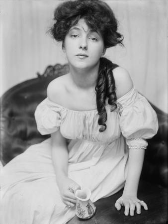 Evelyn Nesbit, Chorus Girl and Model, Brought to the Studio by Stanford White, C. 1902