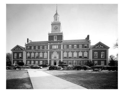 Howard University, Founders Library, Washington DC, 1970s