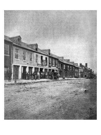 The Civil War, Sanitary Commission at Fredericksburg, Virginia, May, 1864