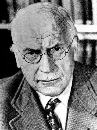 Psychiatrist Carl Gustav Jung, 1960s