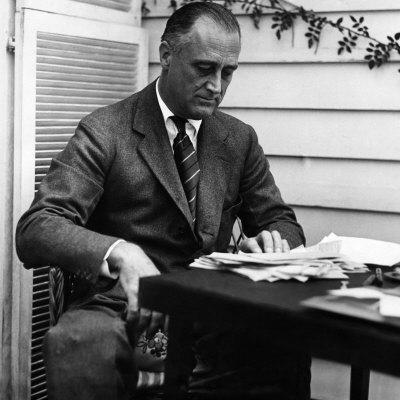 US President Franklin D. Roosevelt, Mid-1930s