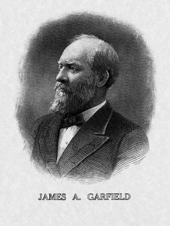 US President James Garfield