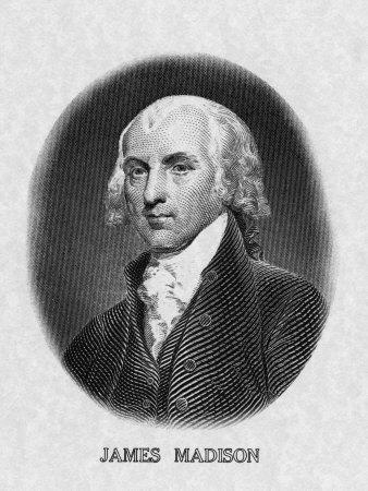 US President James Madison