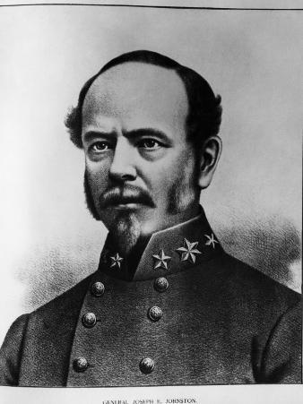 Joseph E. Johnston, U.S. Army Officer and a Senior General in the Confederate States Army, 1860s