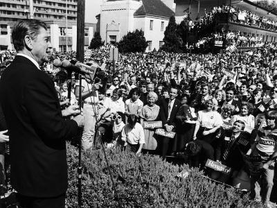 President, Ronald Reagan, During His Campaign for the Presidency, Alabama, 1980