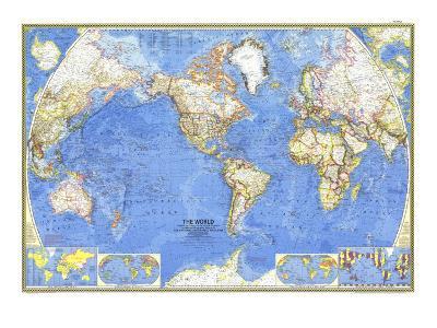 1965 World Map