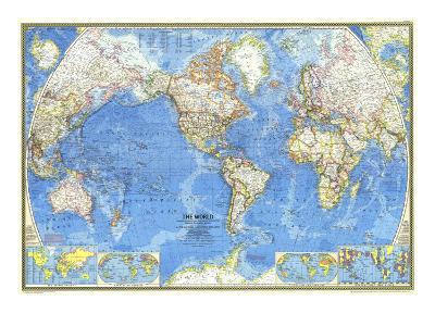 1970 World Map