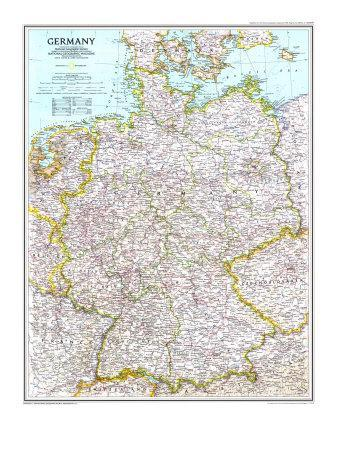 1991 Germany Map