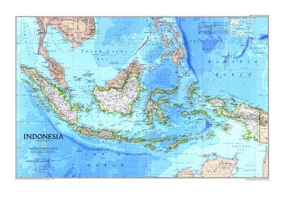 1996 Indonesia Map