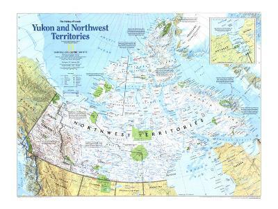 Yukon And Northwest Territories Map 1997