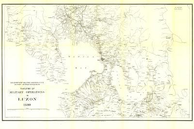 1899 Theatre of Military Operations in Luzon