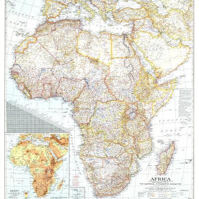 1943 Africa Map