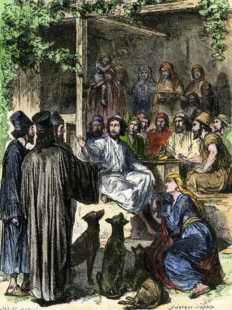 Jesus Eating with Sinners and Tax-Collectors in Jerusalem