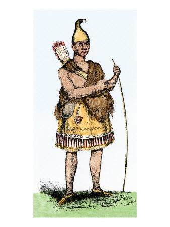 Pennacook Chief known as Passaconaway the Bashaba