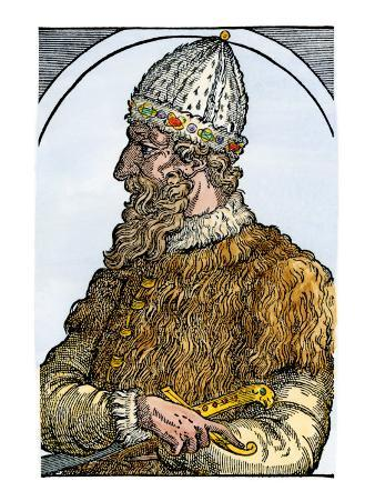 Ivan Iii, known as Ivan the Great, Grand Prince of Muscovy