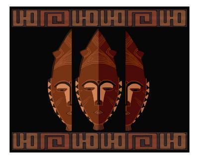 African Mask Art 1