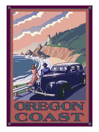 Lighthouse View - Oregon Coast, c.2009