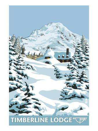 Timberline Lodge - Winter - Mt. Hood, Oregon, c.2009