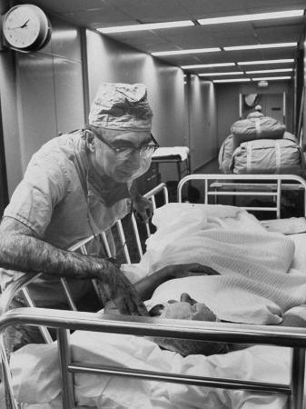 Dr. Michael E. Debakey, Chief Heart Surgeon at the Methodist Hospital