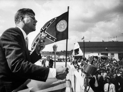 Sen. John F. Kennedy Campaigning for President