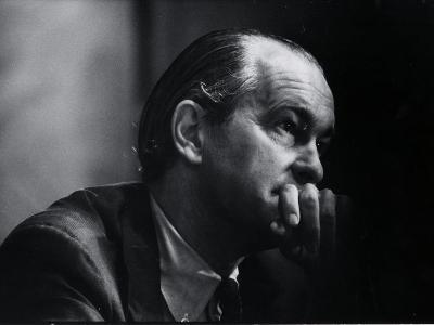 US Amb. to Iran Richard Helms, Formerly CIA Dir., During His Testimony at Watergate Hearings