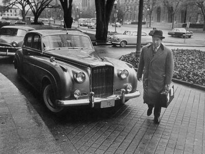 Chief of Protocol Wiley T. Buchanan Jr. Walking by a Bentley