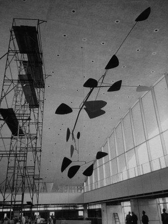 Sculpture Mobile at Idlewild Airport by Alexander Calder